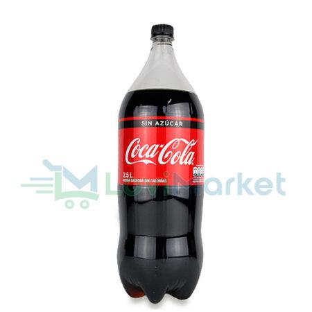 Lovimarket: Coca cola sin azucar 2.5 litros
